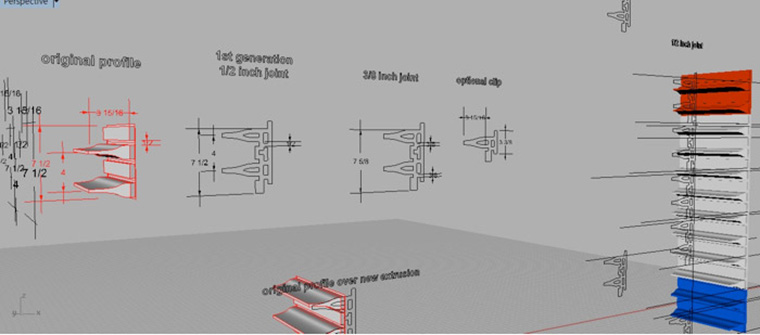 Michael Chen Architecture, Rhino, CAD