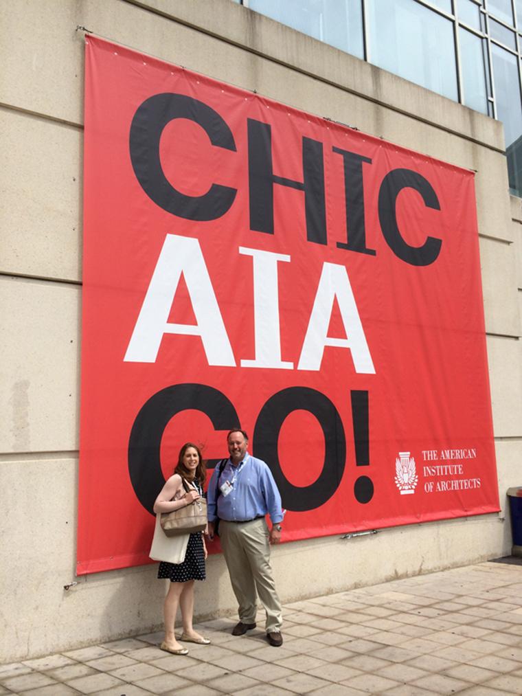 Boston valley terra cotta, 2014 AIA convention, chicago, Il, Bill Pottle, Tricia Herby