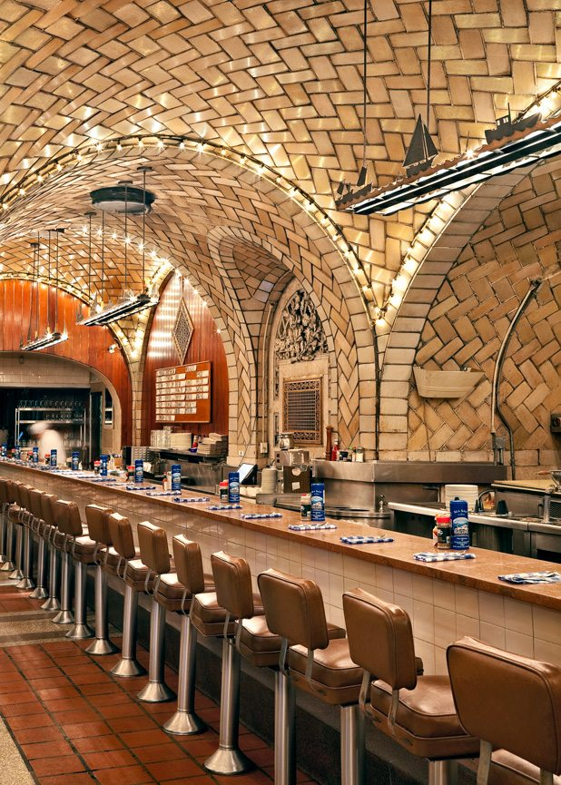 Guastavino Tile, Grand Central Station, Oyster Bar Restaurant in New York City