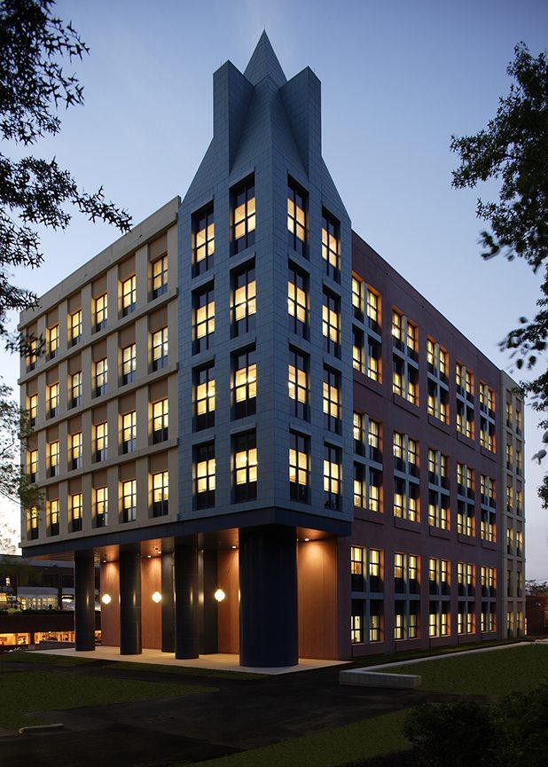 Jersey City University Arts and Science Tower, Jersey City, NJ, Boston Valley Terra Cotta, TerraPreCast, New Build