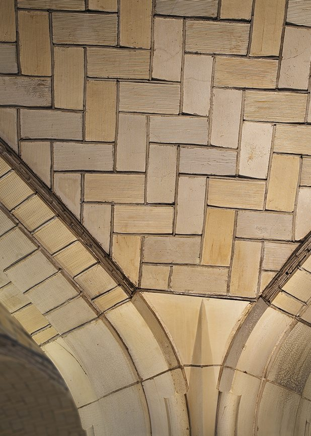 Queensboro Bridgmarket, New York City, Guastavino Tile, Boston Valley Terra Cotta, Hardy Holzman Pfeiffer Associates