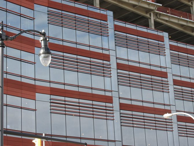 Roswell Park Clinical Sciences Center, Terra Cotta louvers, terraclad, Boston Valley Terra Cotta