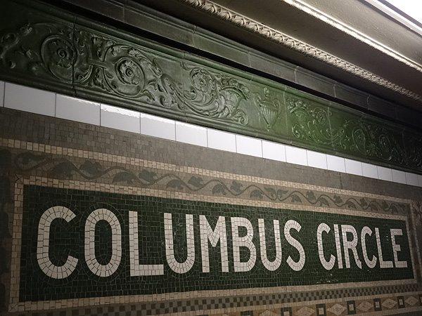 Columbus Circle, NYC, custom glaze, terra cotta, boston valley terra cotta
