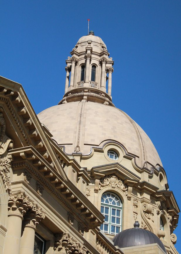 Alberta Legislature Dome, architectural restoration, Edmonton, Alberta, Canada