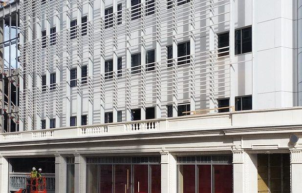 250 Delaware Avenue, Buffalo, NY, Boston Valley Terra Cotta, terraclad, new build, rainscreen