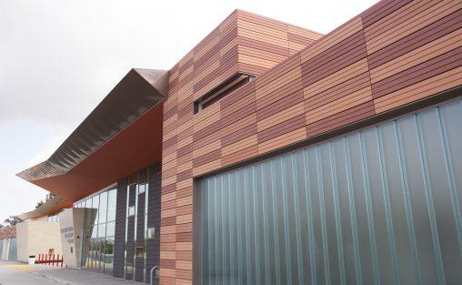 Rowland Heights Community Center, TerraClad, terra cotta panels, California