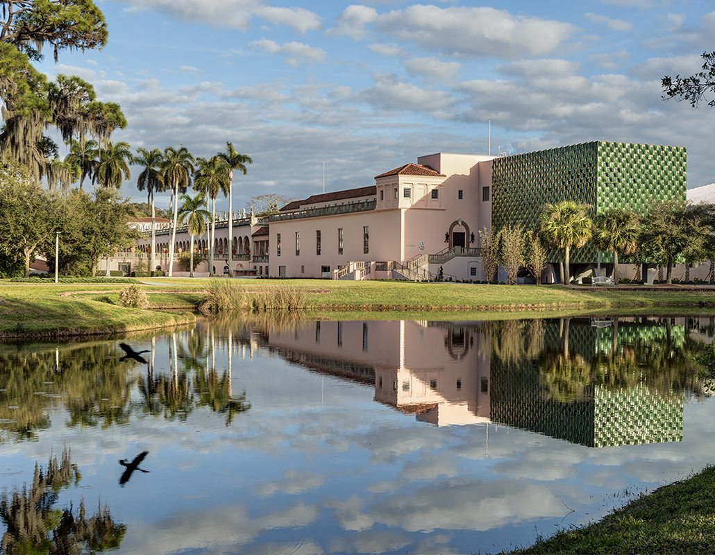 John and Mable Ringling Museum of Art-Center for Asian Art, Boston valley terra cotta, architectural terracotta, TerraClad, New Build, Florida, American manufacturer, Machado Silvetti, Glaze