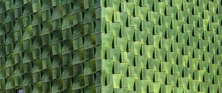 John & Mable Ringling Museum of Art, Center for Asian Art, terraclad, glaze