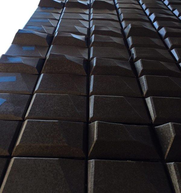 Nanobiome Building Skin, Green Wall, NYC, Michael Chen, Boston Valley Terra Cotta
