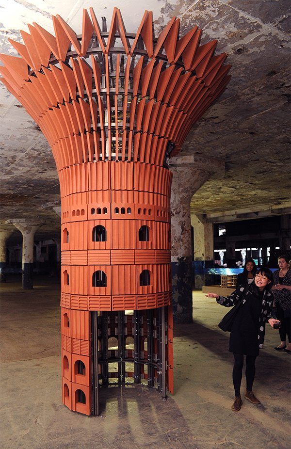 Albert Kahn, Boston Valley Terra Cotta, UB School of Architecture and Planning, terra cotta, Echo Art Fair, Buffalo NY