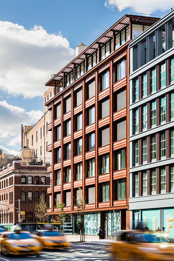 10 Bond Street, NYC, Selldorf Architects, Terra Cotta Rainscreen, Boston Valley