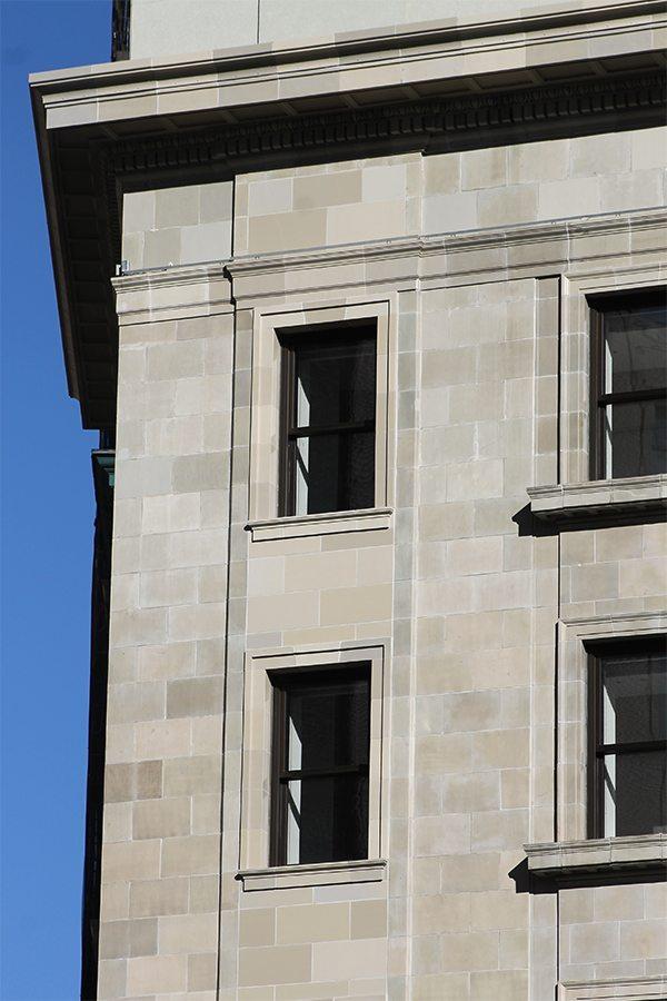 Porcelanosa USA, 202 5th Avenue, Boston Valley Terra Cotta, Award Winning Restoration