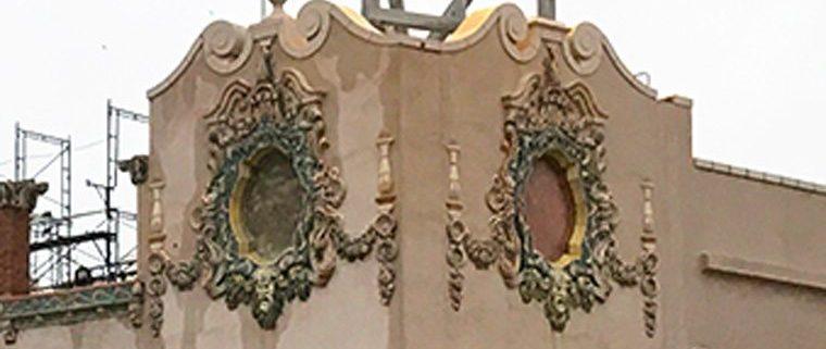 Seaside Park Community Arts Center, custom glaze, restoration, terra cotta