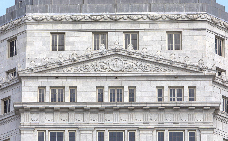 Miami Dade County Courthouse, architectural terra cotta restoration, florida