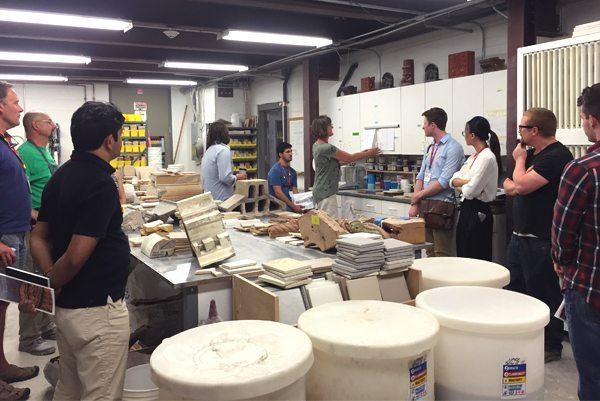Christine Jetten, Boston Valley Terra Cotta, Terra Cotta, Glaze Lab, ACAW, Architectural Ceramic Assemblies Workshop