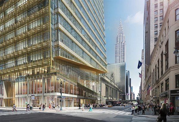 One Vanderbilt, Boston Valley Terra Cotta, Midtown Manhattan, Kohn Pedersen Fox, New York City