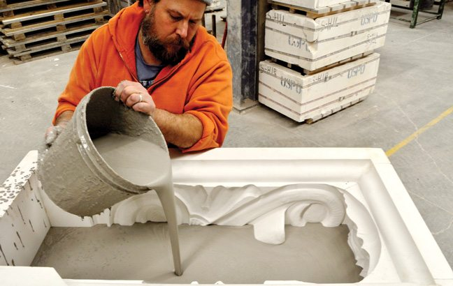 Forming Methods, Slip Cast, Clay, Mold, Boston Valley Terra Cotta, Factory