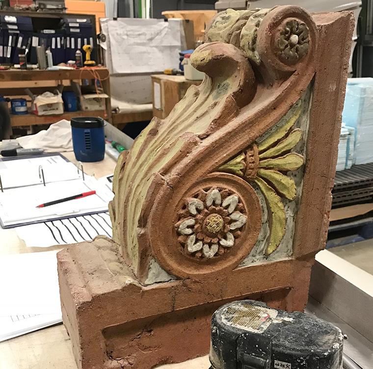 Ca d'Zan, Ringling Museum of Art, John and Mable Ringling, Architectural Terra Cotta, Restoration, Venetian Revival, Sarasota, Florida