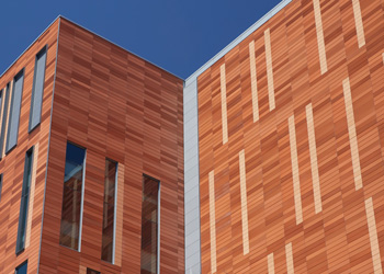 University at Buffalo Jacobs School of Medicine and Biomedical Sciences, Boston Valley Terra Cotta, TerraClad, New build
