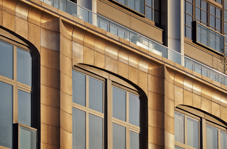 200 11th Avenue, Selldorf Architects, New york City, Boston Valley Terra Cotta, Custom glaze, Terra Cotta Masonry