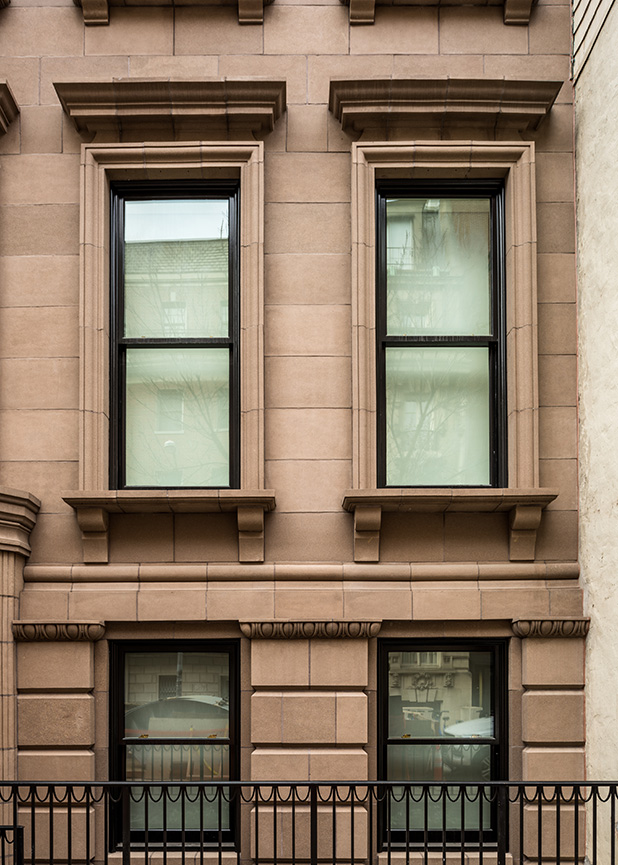 Boston Valley Terra Cotta, New Build, Michael Chen, Planters, NYC Townhouse, TerraClad, Restoration, Masonry