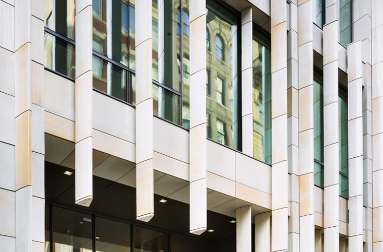 BKSK Architects, One Madison Gatehouse, Boston Valley Terra cotta, Custom Glaze, TerraClad, New York City