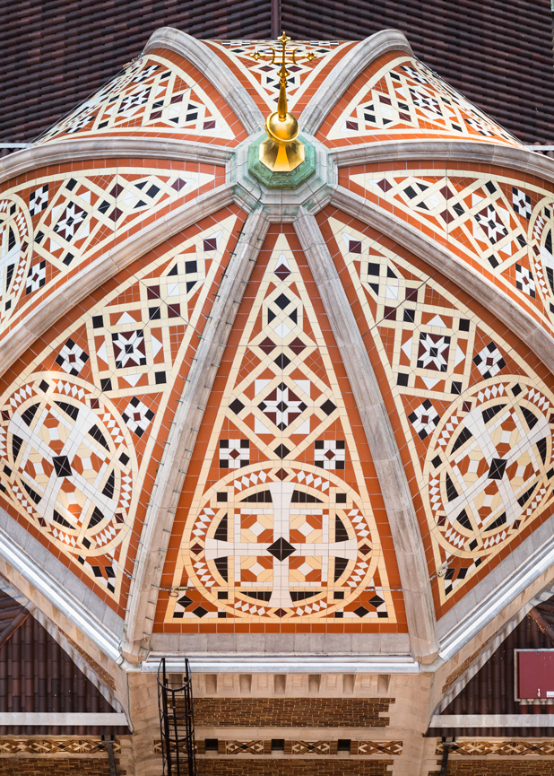 St.Bart's Dome, New York City, Boston Valley Terra Cotta, Terra Cotta Roof Tile