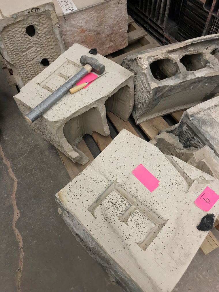 Architectural Terra Cotta, Terra Cotta Facade, Gloversville NY, Gloversville Public Library, Boston Valley Terra Cotta, Pre-design, terra cotta masonry, restoration