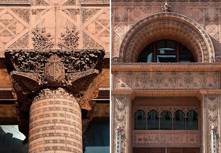Guaranty Building, Louis Sullivan, Flynn Battaglia, Restoration, Terra cotta, Boston valley terra cotta, John Krouse