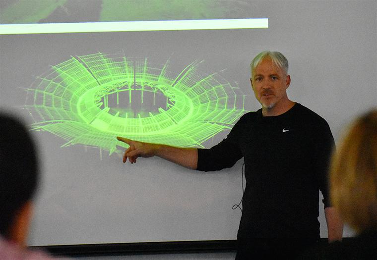 Craig Copeland, Pelli Clarke Pelli Architects, Architectural Ceramic Assemblies Workshop,