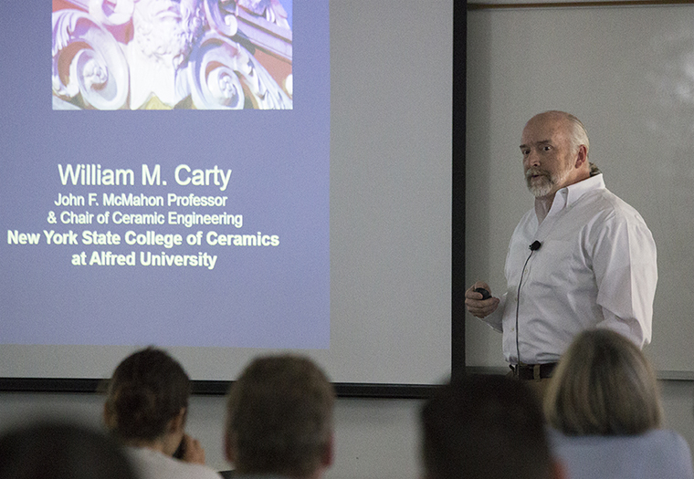 William M. Carty, Alfred University, New York State College of Ceramics, Architectural Ceramic Assemblies Workshop,