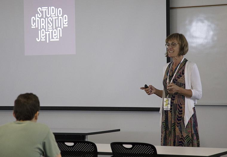 Christine Jetten, Glaze Artist, Studio Christine Jetten, Architectural Ceramic Assemblies Workshop,