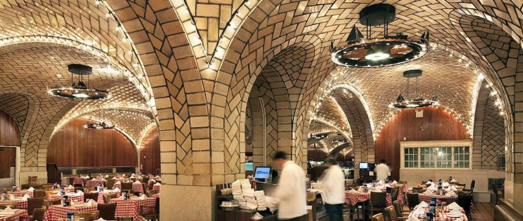 Oyster Bar, NYC, Boston Valley Terra Cotta