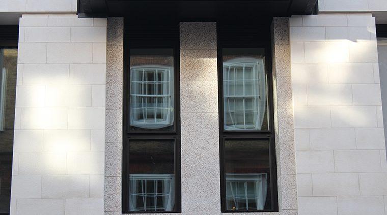 Lodha Group, PLP Architecture, Boston Valley Terra Cotta, Custom glaze, Terra cotta facade, architectural terra cotta, installation, london, england, united kingdom