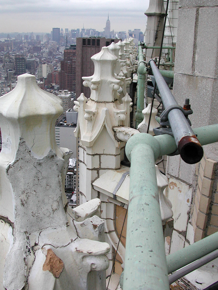 The Woolworth Building, Restoration, Boston Valley Terra Cotta, SWRInstitute, New York City, Applicator Magazine