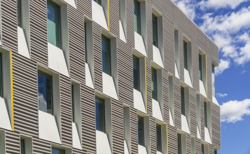 cornell university, upson hall, ltl associates & Perkins + Will, AJ Glass, TerraClad®, Extrusion