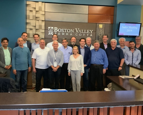 Boston Valley Terra Cotta, Annual Sales Meeting, 2019, Buffalo NY