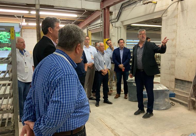 Boston Valley Terra Cotta, Factory Tour, John Krouse, Annual Sales Meeting