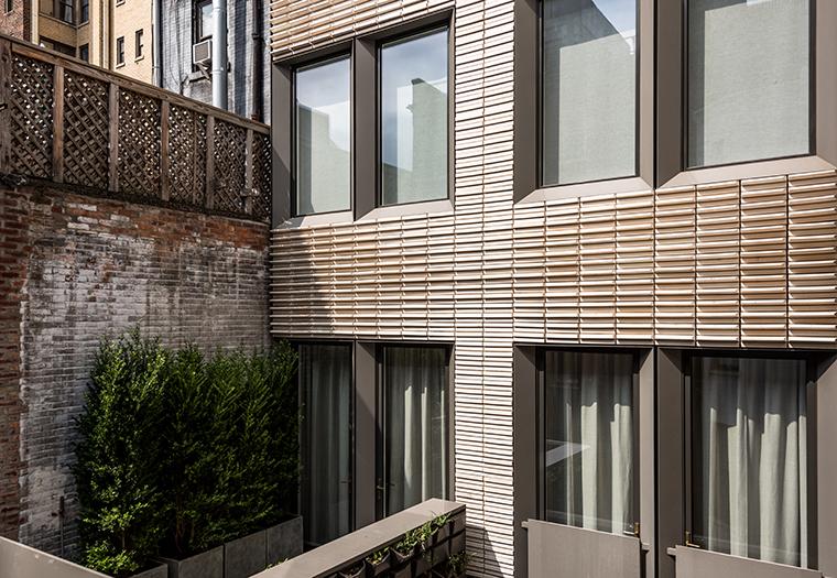 michael k chen architecture, Boston Valley Terra Cotta, terraclad®, extruded terra cotta panels, white glaze
