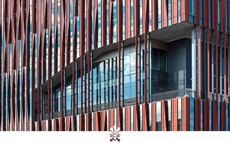 University of Arizona, Health and Sciences Innovation Builidng, CO Architects, Kovach, Boston Valley Terra Cotta, TerraClad® Sunshade, Tuscon Arizona