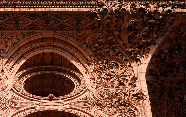 The Guaranty building in buffalo was one of the first restoration projects done by Boston Valley Terra Cotta with Flynn Battaglia