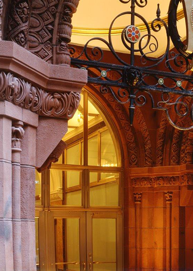 Fashion Center Building, George Ranalli Architect, Boston Valley Terra Cotta, Restoration, New York, NY