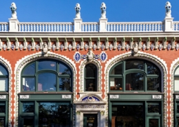 Audrain Building Restoration, Newport RI, Terra Cotta Masonry, Newport Collaborative Architect, Parker Construction